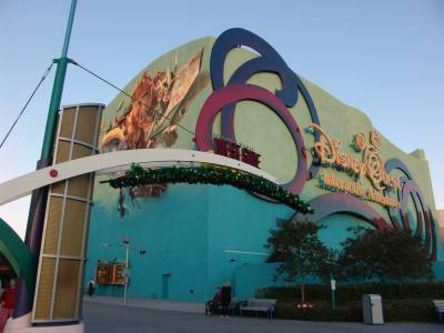 Photo illustrating <font size=1>Downtown Disney - DisneyQuest