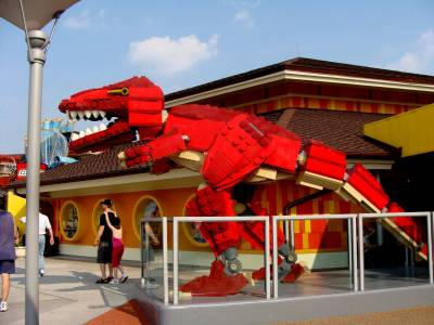 Photo illustrating <font size=1>Lego Store
