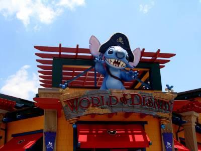 Photo illustrating <font size=1>World of Disney