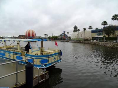 Photo illustrating <font size=1>Disney Springs - boat dock