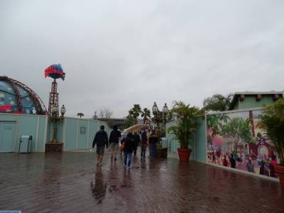 Downtown Disney - progress on Disney Springs