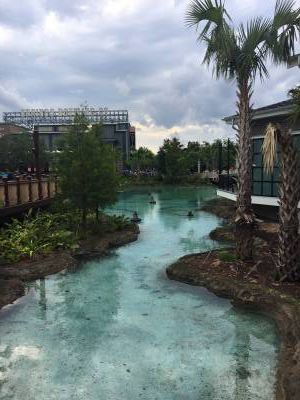 Photo illustrating <font size=1>Disney Springs new Town Center section