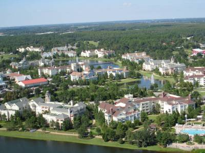 Aerial view of Saratoga Springs Resort photo