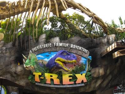 T rex restaurant passporter photos for Disney dining reservations t rex