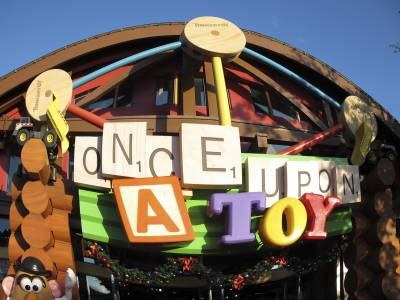 Photo illustrating <font size=1>Downtown Disney Once Upon a Toy