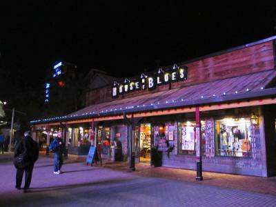 Photo illustrating Downtown Disney - House of Blues
