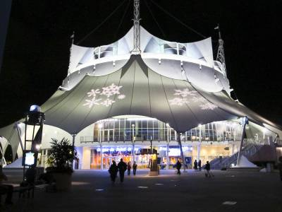 Photo illustrating Downtown Disney - Cirque du Soleil