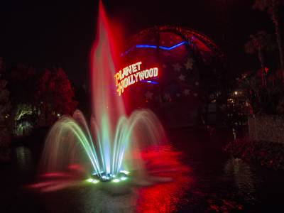 Photo illustrating <font size=1>Downtown Disney Planet Hollywood