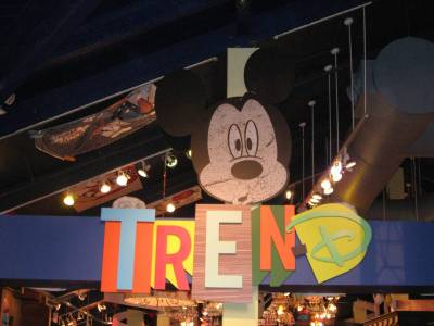 Photo illustrating <font size=1>Downtown Disney - TrenD
