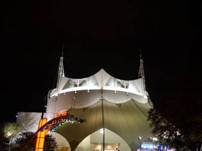 Photo illustrating <font size=1>Downtown Disney - Cirque du Soleil