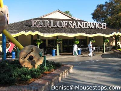 Photo illustrating <font size=1>Downtown Disney - Earl of Sandwich