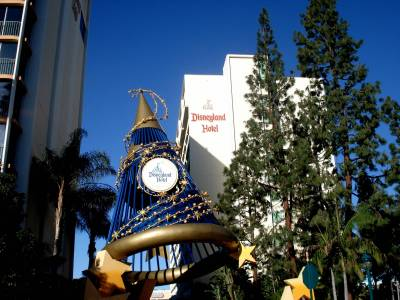Disneyland Hotel - Downtown Disney District entrance photo