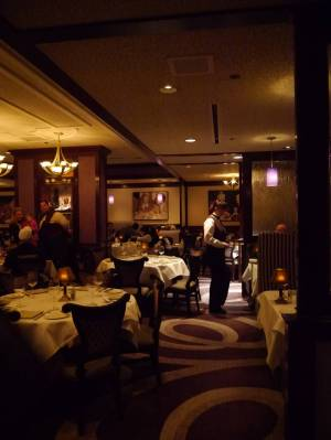 Photo illustrating Disneyland Hotel - Steakhouse 55