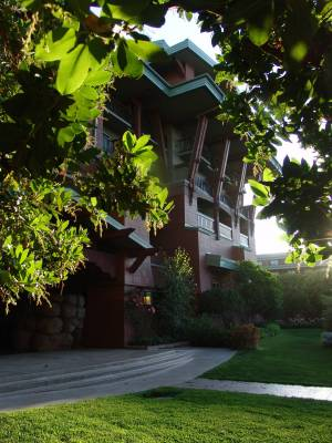 Photo illustrating Grand Californian Hotel - exterior