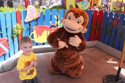 Universal Studios Hollywood Curious George Meet Amp Greet