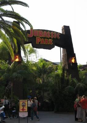 Universal Studios Hollywood Jurassic Park Ride