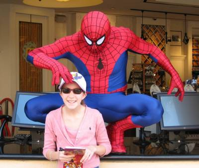Photo illustrating Universal Studios Hollywood - Spiderman