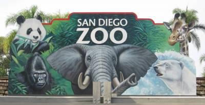 San Diego Zoo Entrance Sign Passporter Photos