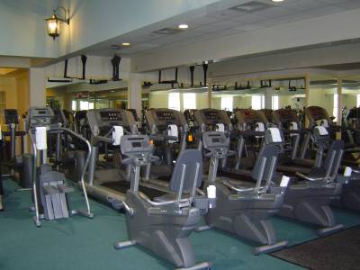 Photo illustrating Saratoga Springs - Spa fitness center