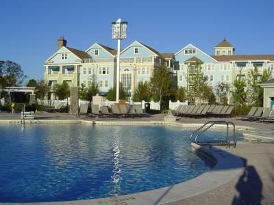 Photo illustrating <font size=1>Saratoga Springs - Congress Park quiet pool