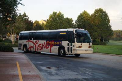 Photo illustrating <font size=1>Disney Bus at SSR