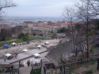 Lyon - Roman amphitheatre photo
