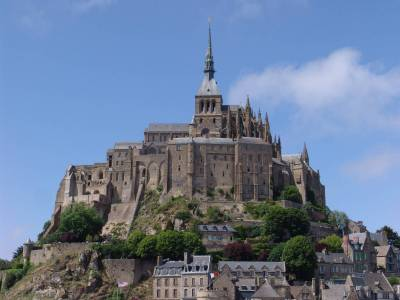 Photo illustrating France - Mont St. Michel