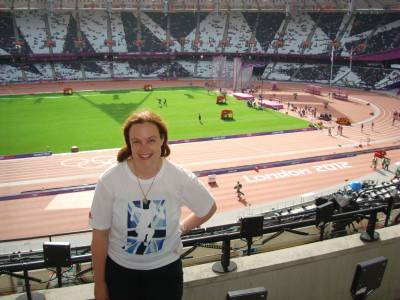 London 2012 - inside the Olympic Stadium photo