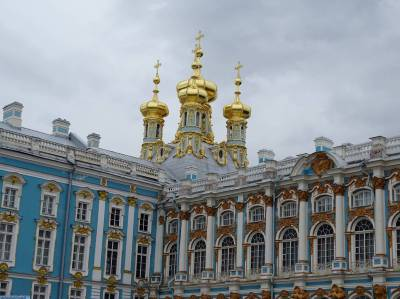 Photo illustrating St. Petersburg