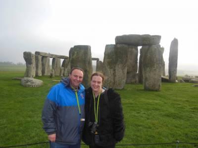 Photo illustrating Stonehenge