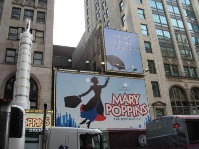 Photo illustrating <font size=1>New York City - Broadway