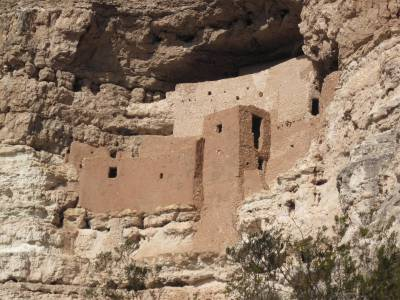 Montezuma Castle - Zoomed in photo