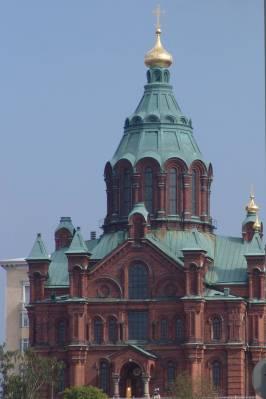 Photo illustrating Helsinki - Uspensky Cathedral