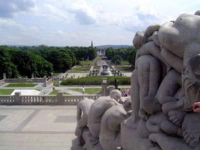 Photo illustrating Oslo - Vigeland Sculpture Park