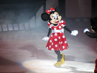 Photo illustrating <font size=1>Disney on Ice -  Minnie Mouse