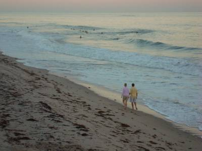 Photo illustrating Vero Beach - private beach