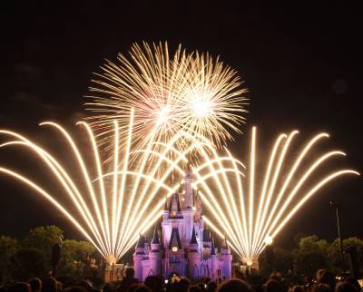 Photo illustrating <font size=1>Magic Kingdom - Wishes