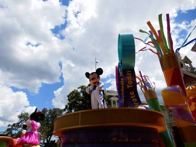 Photo illustrating Celebrate a Dream Come True Parade