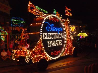 Disney's Electrical Parade, 10/21/10 photo