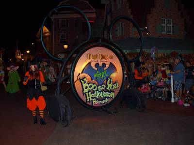Boo to you Parade photo
