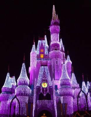 Cinderella Castle Christmas Lights.Cinderella Castle Christmas Lights Passporter Photos