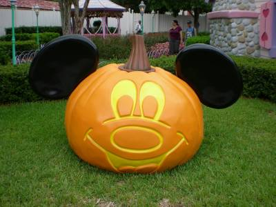 Photo illustrating Magic Kingdom - Mickey Pumpkin