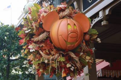 Magic Kingdon - Halloween Wreath photo
