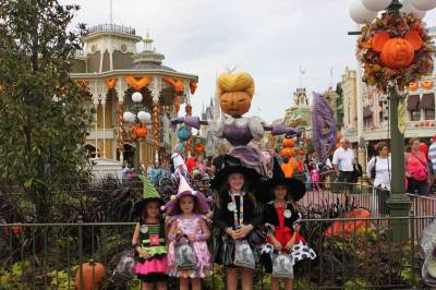 Photo illustrating Halloween at Magic Kingdom