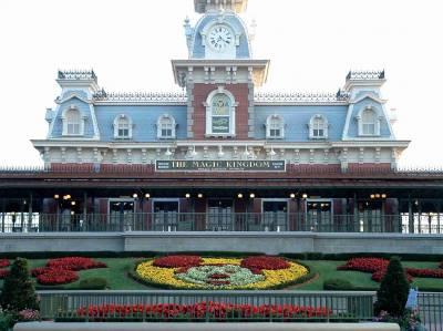 Photo illustrating <font size=1>Magic Kingdom - Main St. Train Station