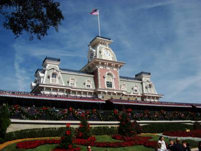 Magic Kingdom - Main Street Railroad Station photo