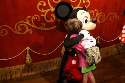 Photo illustrating Hugs for Mickey