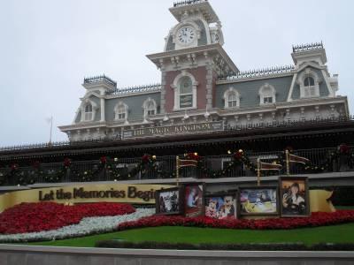 Photo illustrating <font size=1>Magic Kingdom Train Station