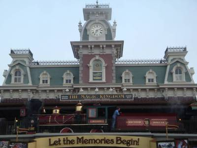Walt Disney World Railroad Station
