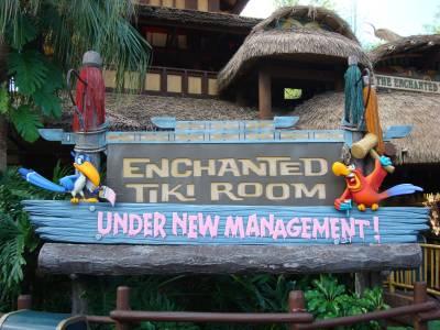 Photo illustrating <font size=1>Magic Kingdom - Enchanted Tiki Room